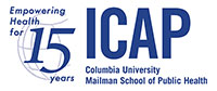 ICAP logo - Columbia University Mailman School of Public Health