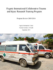 Cover: Trauma and Injury Research Training Program Program Review 2005-2014