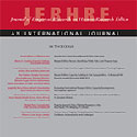 Portion of the cover of JERHRE, a journal on research ethics