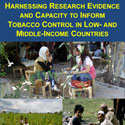 Portion of the poster for a meeting on tobacco control in LMICs
