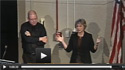 Webcast screenshot of Drs Clifton E Barry and Carol A Nacy