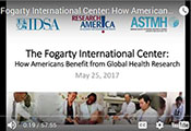 Intro slide - how Americans benefit from global health research