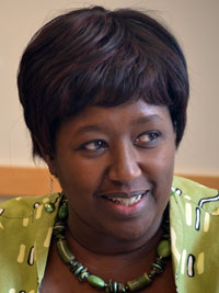 Headshot of Dr Agnes Binagwaho