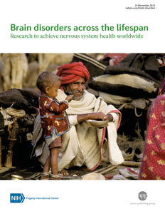 Cover of Nature supplement on brain disorders across the lifespan