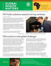 Cover of November / December issue of Global Health Matters
