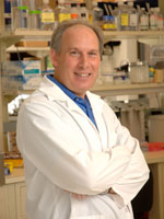 Dr. Dennis Drayna in lab