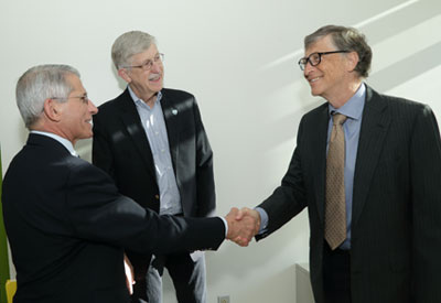Bill Gates visits NIH for ongoing talks - Fogarty International Center @ NIH