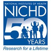 NICHD 50th anniversary logo