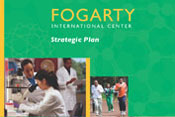 Section of cover of Fogarty strategic plan