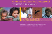 Section of cover of Fogarty 2008-2012 strategic plan document