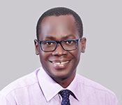 Headshot of Dr. Emmy Okello.
