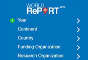 Screen capture of World RePORT tool