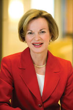Photo: headshot of Dr. Elizabeth G. Nabel