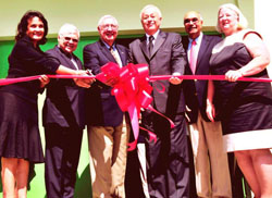 PHOTO: Ribbon cutting at Johnson Center