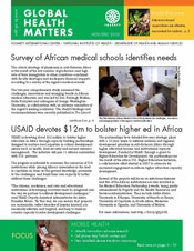 Cover of December 2010 issue of Global Health Matters