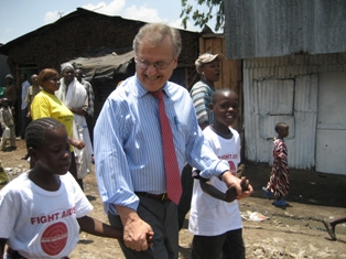 Mr. Stephen Lewis author of Race Against Time: Searching for Hope in AIDS-Ravaged Africa