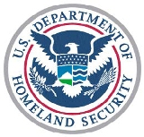 Logo for the U.S. Department of Homeland Security