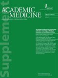 Cover of Acamedic Medicine August 2014 Supplement 8