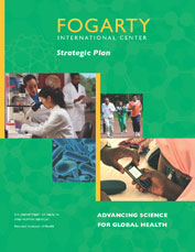 Cover of the Strategic Plan of the Fogarty International Center at NIH