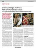Nature Magazine cover of Grand Challenges in chronic non-communicable disease article, Nov. 21, 2007