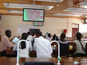 Students in MEPI site classroom incorporate technology, photo courtesy of Dr James Kiarie